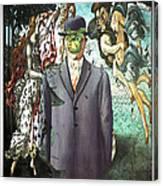 Botticelli Son-of-man 1  Canvas Print
