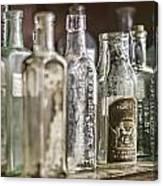 Bottle Collection Canvas Print
