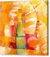Bottle Cubic Canvas Print