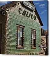 Bottle House Calico California Canvas Print