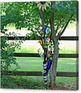 Bottle Tree Canvas Print