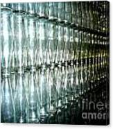 Bottle Wall Canvas Print