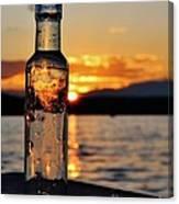 Bottled Sun Canvas Print