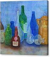 Bottles Collection Canvas Print