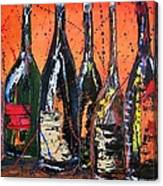 Bottle's Enjoyed Canvas Print