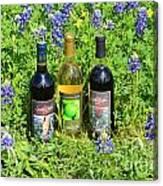 Bottles Of Wine Canvas Print