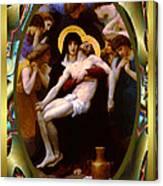 Bougereau Vintage Jesus Canvas Print