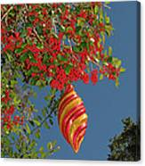 Boughs Of Holly Canvas Print