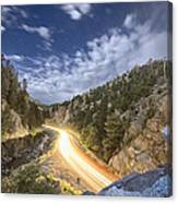 Boulder Canyon Dream Canvas Print
