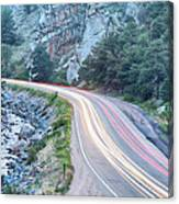 Boulder Canyon Drive And Commute Canvas Print