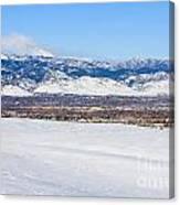 Boulder Colorado Canvas Print