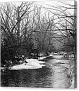 Boulder Creek Canvas Print