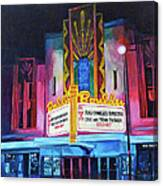 Boulder Theater Canvas Print