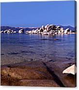 Boulders At The Coast, Lake Tahoe Canvas Print