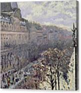 Boulevard Des Italiens Canvas Print