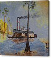 Bound for New Orleans Bayou Saint John Louisiana Canvas Print