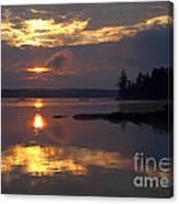 Boundary Waters Sunrise Canvas Print
