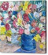 Bouquet 1 - Sold Canvas Print