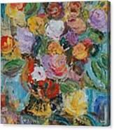 Bouquet 2 - Sold Canvas Print