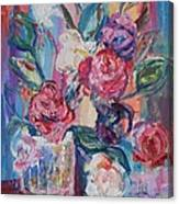 Bouquet 3 - Sold Canvas Print