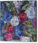 Bouquet 4 Canvas Print