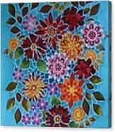 Bouquet Ala Tiffany Canvas Print