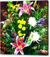 Bouquet Bounty Canvas Print