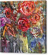 Bouquet De Chez Moi 04 Canvas Print