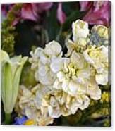 Bouquet Flower Canvas Print