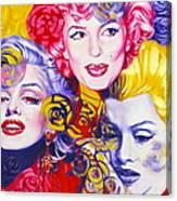 Bouquet Of Marilyn Canvas Print