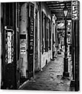 Bourbon Street Diva Canvas Print
