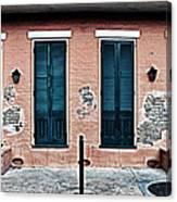 Bourbon Street Doors Canvas Print