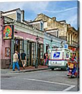 Bourbon Street - Let The Party Begin Canvas Print