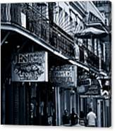 Bourbon Street New Orleans Canvas Print