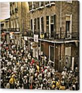 Bourbon Street Party Canvas Print
