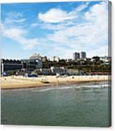 Bournemouth Bay Canvas Print