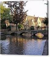 Bourton On The Water 5 Canvas Print