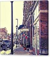 Boutique Lane Canvas Print