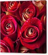 Boutique Roses Canvas Print