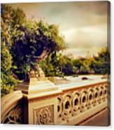 Bow Bridge View Canvas Print