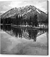 Bow River Banff Alberta Canvas Print