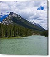 Bow River - Banff Canvas Print