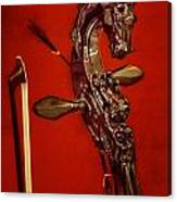 Bowed Lute Canvas Print