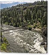 Bowl And Pitcher Area - Riverside State Park - Spokane Washington Canvas Print