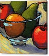 Bowl Of Fruit 5 Canvas Print