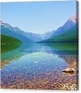 Bowman Lake Canvas Print