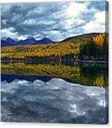 Bowman Lake Quietude Canvas Print