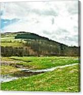 Bowmont Valley Canvas Print