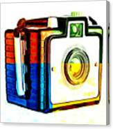 Box Camera Pop Art 3 Canvas Print