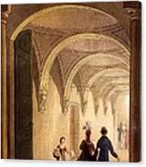 Box Entrance To The English Opera Canvas Print
